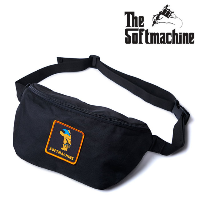SOFTMACHINE(ソフトマシーン) NO WAY WEST BAG 【ウエストバッグ タトゥー TATTOO おしゃれ】【2020SUMMER VACATION先行予約】【キ
