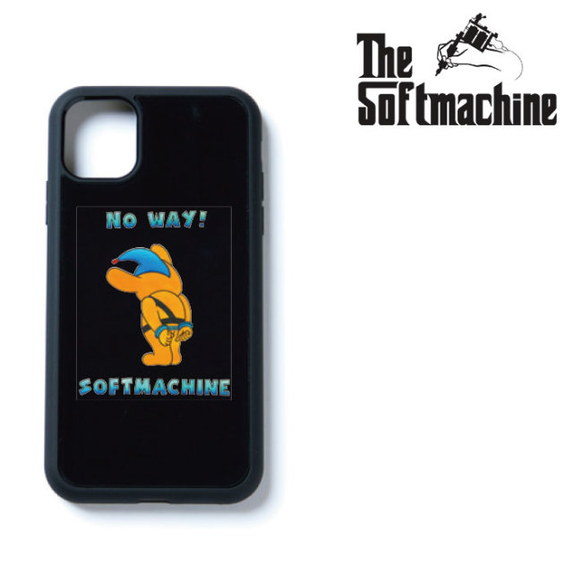 SOFTMACHINE(ソフトマシーン)  NO WAY iPhone CASE 【iphone ケース タトゥー TATTOO おしゃれ】【7&8,7&8 Plus,X,XS,XR,XS MAX,11