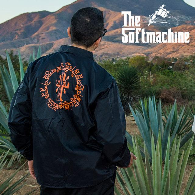 SOFTMACHINE(ソフトマシーン) OTHER WORLD JK 【コーチジャケット】【ブラック タトゥー】【2020SUMMER VACATION先行予約】【キャ
