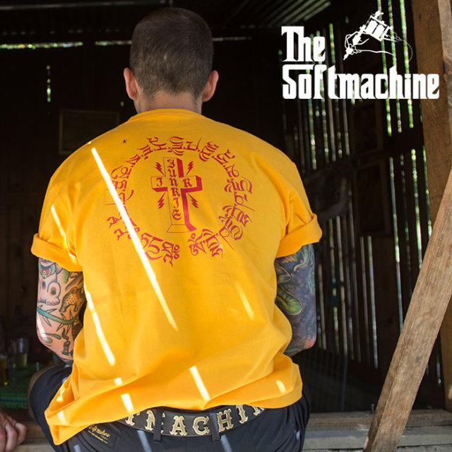 SOFTMACHINE(ソフトマシーン) OTHER WORLD-T 【Tシャツ 半袖】【ホワイト ブラック イエロー タトゥー】【2020SUMMER VACATION先行