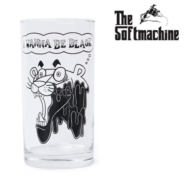 SOFTMACHINE(ソフトマシーン) PAINT IT BLACK GLASS 【グラス コップ タトゥー TATTOO おしゃれ】【2020SUMMER VACATION先行予約】