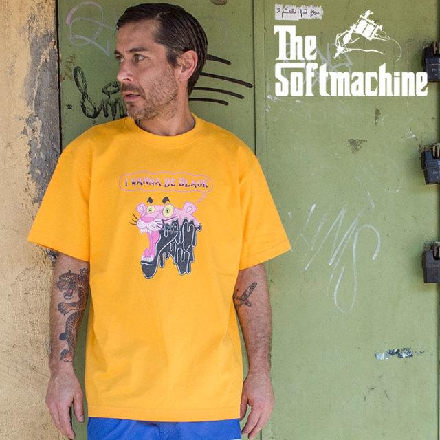 SOFTMACHINE(ソフトマシーン) PAINT IT BLACK-T 【Tシャツ 半袖】【ホワイト ブラック ブルー タトゥー】【2020SUMMER VACATION先