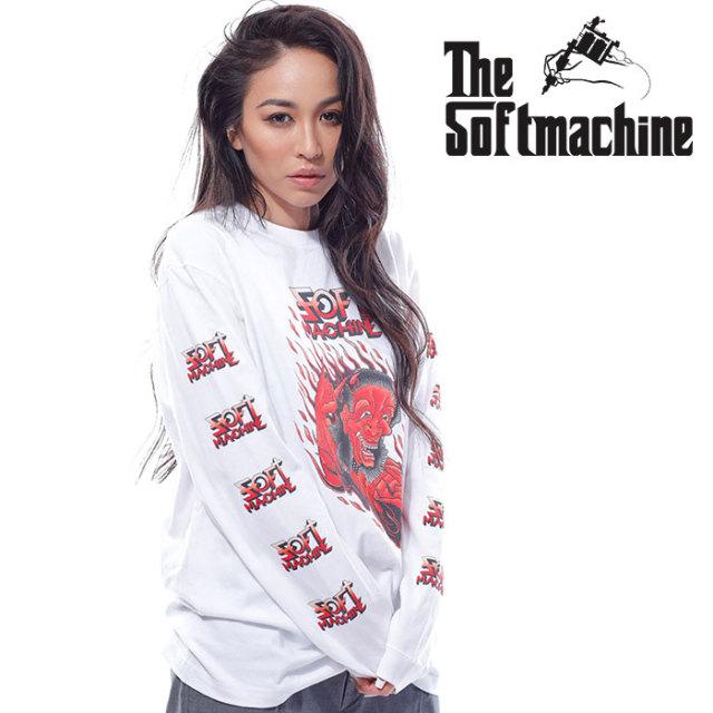 SOFTMACHINE(ソフトマシーン) PARANOID L/S 【ロングスリーブTシャツ 長袖】【ホワイト ブラック グレー タトゥー】【2020SUMMER V