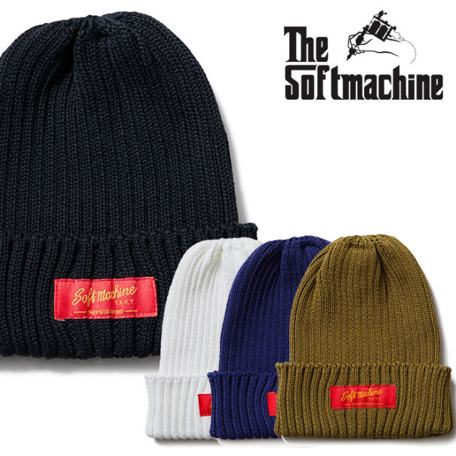 SOFTMACHINE(ソフトマシーン) RHODESIA WATCH CAP 【2019SPRING&SUMMER新作】【ニットキャップ】