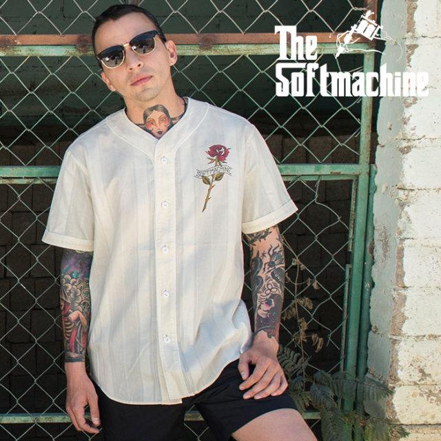 SOFTMACHINE(ソフトマシーン) ROSE B.B 【シャツ 半袖】【ホワイト タトゥー】【2020SUMMER VACATION先行予約】【キャンセル不可】