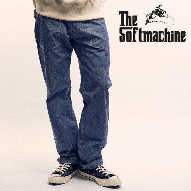 SOFTMACHINE(ソフトマシーン) SMITH CHAMBRAY PANTS(BAKER PANTS) 【2019SPRING&SUMMER先行予約】【キャンセル不可】【ベイカー パ