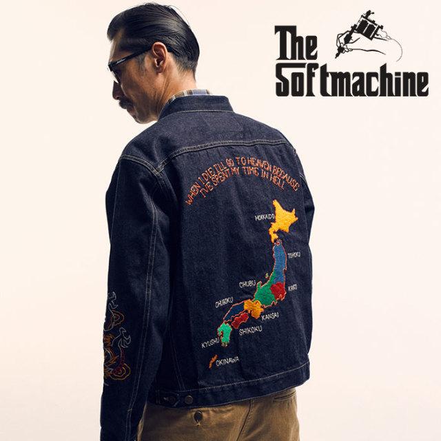 SOFTMACHINE(ソフトマシーン) TERRITORY DENIM JK(DENIM JACKET) 【2019SPRING&SUMMER新作】【デニムジャケット Gジャン】