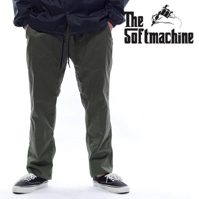 SOFTMACHINE(ソフトマシーン) THOMAS PANTS 【パンツ イージーパンツ】【ブラック オリーブ タトゥー】【2020SUMMER VACATION先行