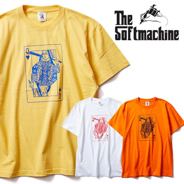 SOFTMACHINE(ソフトマシーン) TOP CAT-T 【Tシャツ 半袖】【ホワイト イエロー オレンジ タトゥー】【2020SUMMER VACATION先行予約
