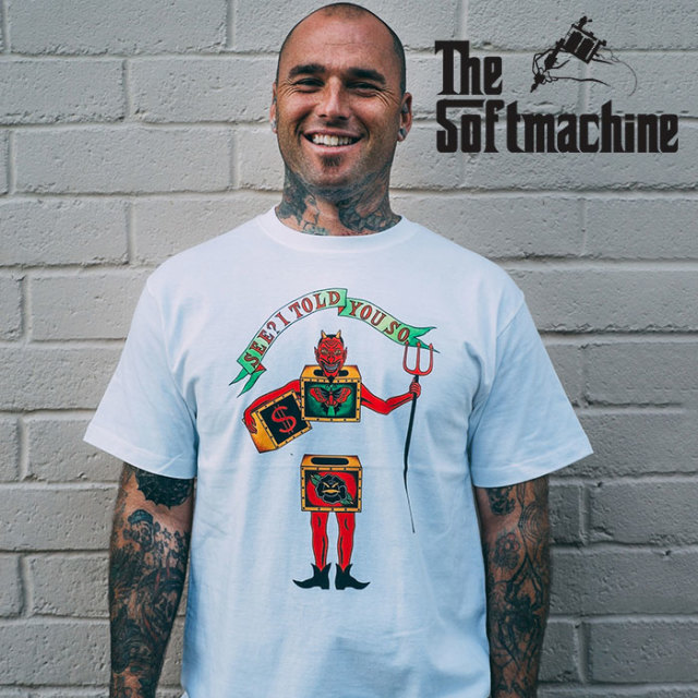 SOFTMACHINE(ソフトマシーン) WEIRD BOX-T(T-SHIRTS) 【2019SPRING&SUMMER先行予約】【キャンセル不可】【プリントTシャツ】