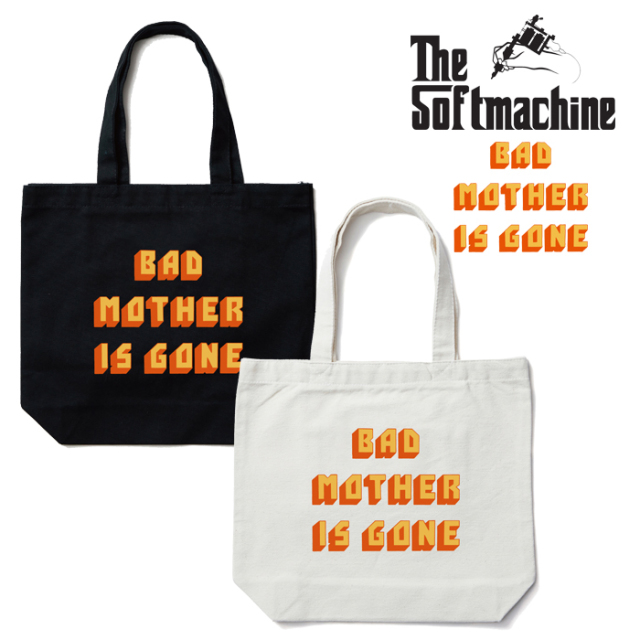 SOFTMACHINE(ソフトマシーン) BAD MOTHER TOTE 【トートバッグ】【ホワイト ブラック タトゥー】【2019AUTUMN&WINTER SPOT先行予約