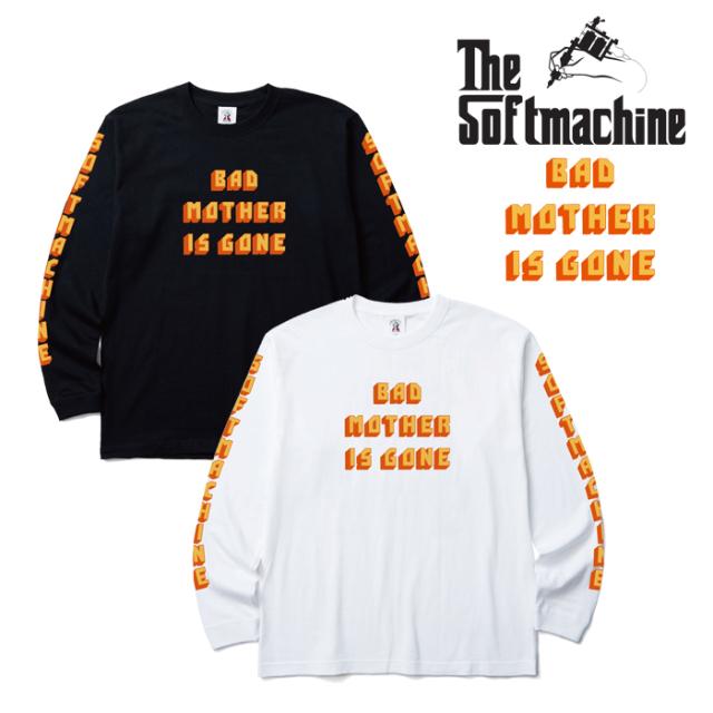 SOFTMACHINE(ソフトマシーン) BAD MOTHER L/S 【長袖 Tシャツ ロングスリーブTシャツ ロンT】【ホワイト ブラック タトゥー】【201