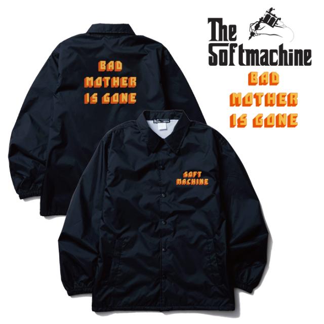 SOFTMACHINE(ソフトマシーン) BAD MOTHER JK 【コーチジャケット アウター】【ブラック タトゥー】【2019AUTUMN&WINTER SPOT先行予