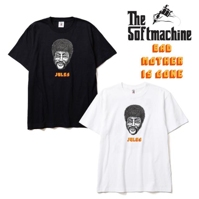 SOFTMACHINE(ソフトマシーン)  JULES-T 【半袖 Tシャツ】【ホワイト ブラック タトゥー】【2019AUTUMN&WINTER SPOT先行予約】【BAD