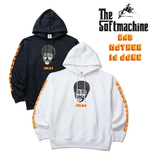SOFTMACHINE(ソフトマシーン) JULES HOODED 【パーカー フード スウェット】【ホワイト ブラック タトゥー】【2019AUTUMN&WINTER S