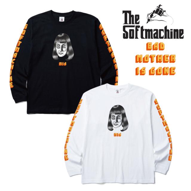 SOFTMACHINE(ソフトマシーン) MIA L/S 【長袖 Tシャツ ロングスリーブTシャツ ロンT】【ホワイト ブラック タトゥー】【2019AUTUMN