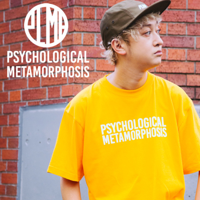 PSYCHOLOGICAL METAMORPHOSIS PLMP LOGO 3 【PSYCHOLOGICAL METAMORPHOSIS  4th collection新作】 【Tシャツ】【PL04-0101】【Rhy