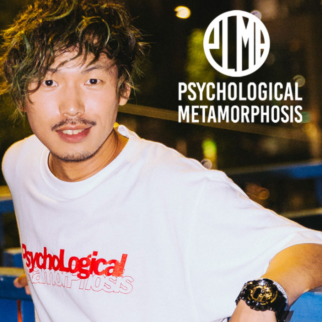 PSYCHOLOGICAL METAMORPHOSIS PLMP CARD TEE  【PSYCHOLOGICAL METAMORPHOSIS  4th collection新作】 【Tシャツ】【PL04-0102】【