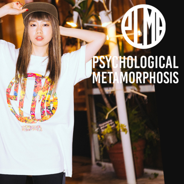 PSYCHOLOGICAL METAMORPHOSIS PLMP FLOWER TEE 【PSYCHOLOGICAL METAMORPHOSIS  4th collection新作】 【Tシャツ】【PL04-0108】