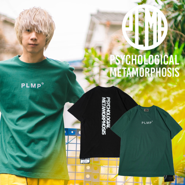 PSYCHOLOGICAL METAMORPHOSIS GLITTER SS TEE 【Tシャツ 半袖】【PL05-0113】【PLMP】