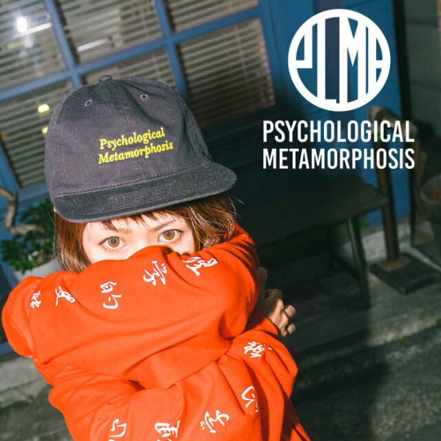 PSYCHOLOGICAL METAMORPHOSIS WIRE COTTON CAP 【PSYCHOLOGICAL METAMORPHOSIS】【キャップ 帽子】【PL05-0303】