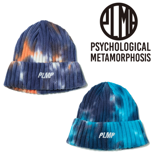 PSYCHOLOGICAL METAMORPHOSIS DYED KNIT CAP 【ニットキャップ 帽子】【PL05-0304】【PLMP】