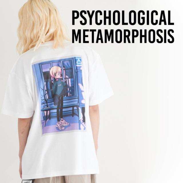 PSYCHOLOGICAL METAMORPHOSIS PLMP×GURIN. SS TEE 02 【Tシャツ】【PLMP ピーエルエムピー】【サイコロジカルメタモルフォーセス】