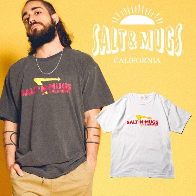 SALT&MUGS(ソルトアンドマグズ) IN-OUT TEE 【Tシャツ、半袖】【ロサンゼルス】【SMSST010】