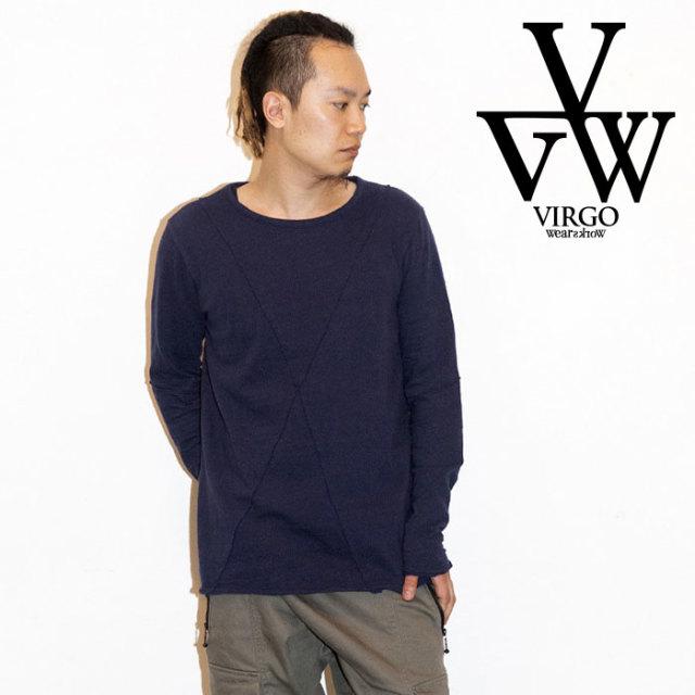 VIRGO ヴァルゴ バルゴ CHOPPING BACK CURTAIN 【2019 LATE FALL&WINTER先行予約】 【VG-CUT-399】【キャンセル不可】【ロングス