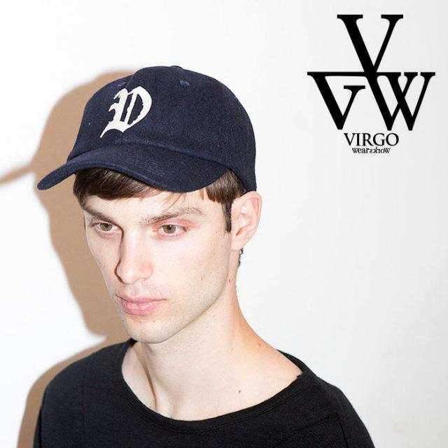 VIRGO ヴァルゴ バルゴ WOOL V CAP  【2019 LATE FALL&WINTER先行予約】 【VG-GD-603】【キャンセル不可】【キャップ】
