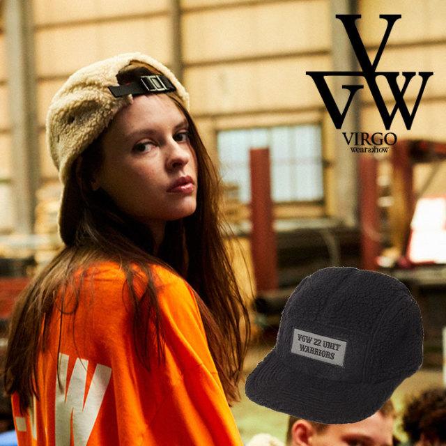 VIRGO ヴァルゴ バルゴ SHEEP BOA CAP  【2019 LATE FALL&WINTER先行予約】 【VG-GD-604】【キャンセル不可】【キャップ】