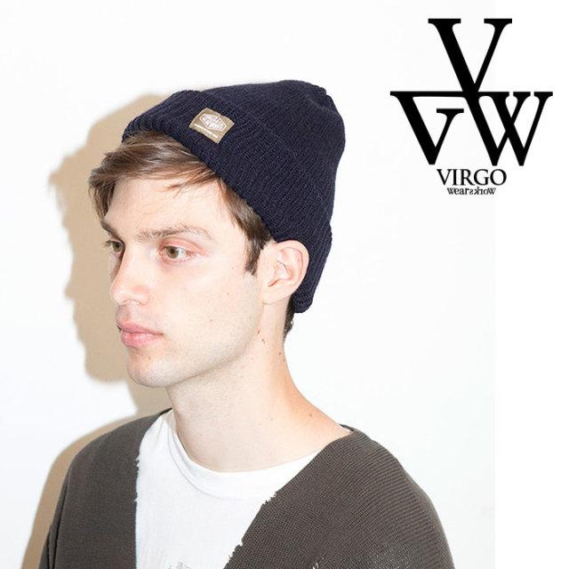 VIRGO ヴァルゴ バルゴ GOOD KNIT  【2019 LATE FALL&WINTER先行予約】 【VG-GD-605】【キャンセル不可】【ニットキャップ】