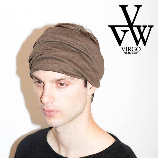 VIRGO ヴァルゴ バルゴ SOLID HAIR BAND 【2019 LATE FALL&WINTER先行予約】 【VG-GD-606】【キャンセル不可】【ヘアバンド】