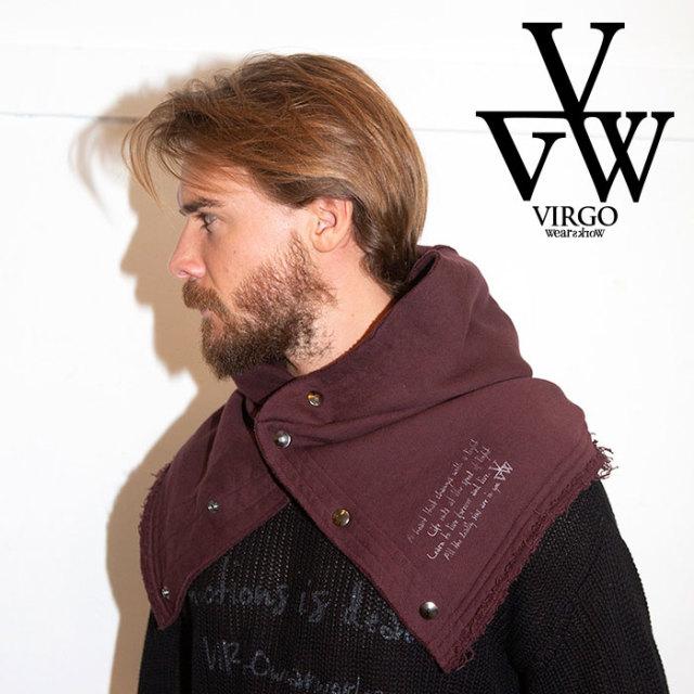 VIRGO ヴァルゴ バルゴ JUGGERNAUT NECK GATER 【2019 LATE FALL&WINTER先行予約】 【VG-GD-608】【キャンセル不可】【ネックウォ