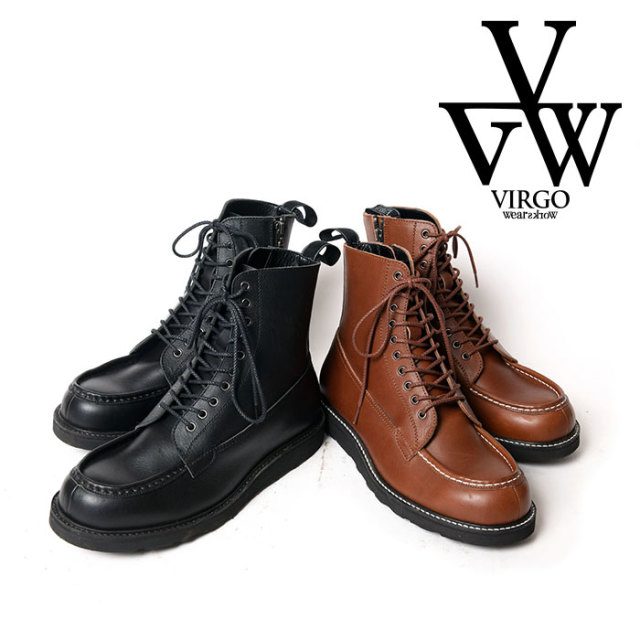 VIRGO ヴァルゴ バルゴ VIRTUOUS MID BOOTS 【2019 LATE FALL&WINTER新作】【送料無料】 【VG-GD-609】【レースアップ ブーツ 紐