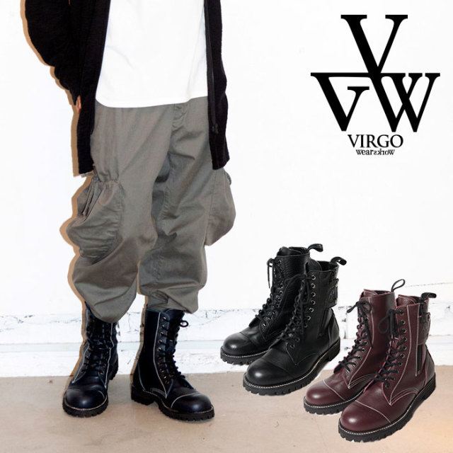VIRGO ヴァルゴ バルゴ MILITARIA SPECIAL BOOTS NEO 【ブーツ ビブラムソール】【VG-GD-610】【2019 LATE FALL&WINTER新作】