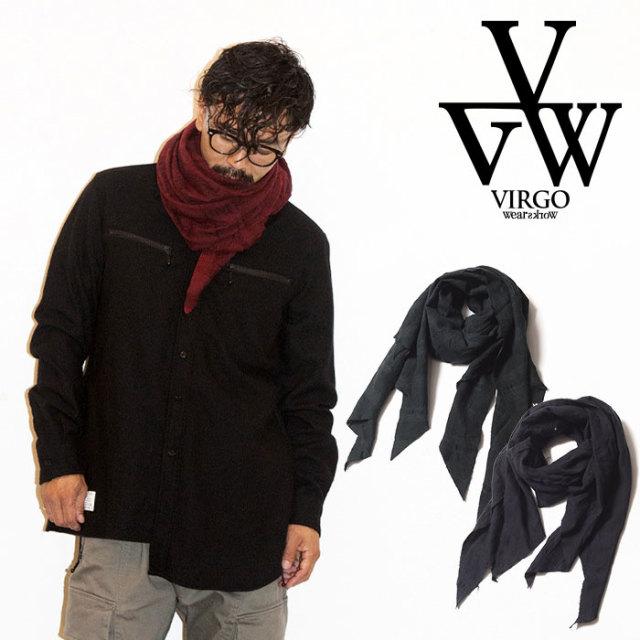 VIRGO ヴァルゴ バルゴ DARK CHECK STALL 【2019 LATE FALL&WINTER先行予約】 【VG-GD-614-】【キャンセル不可】【ストール】