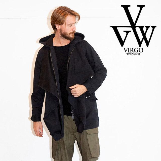 【SALE30%OFF】 VIRGO ヴァルゴ ジャケット VGW DRAPE MODS COAT 【モッズコート】【送料無料】【セール】 【2019 LATE FALL&WIN