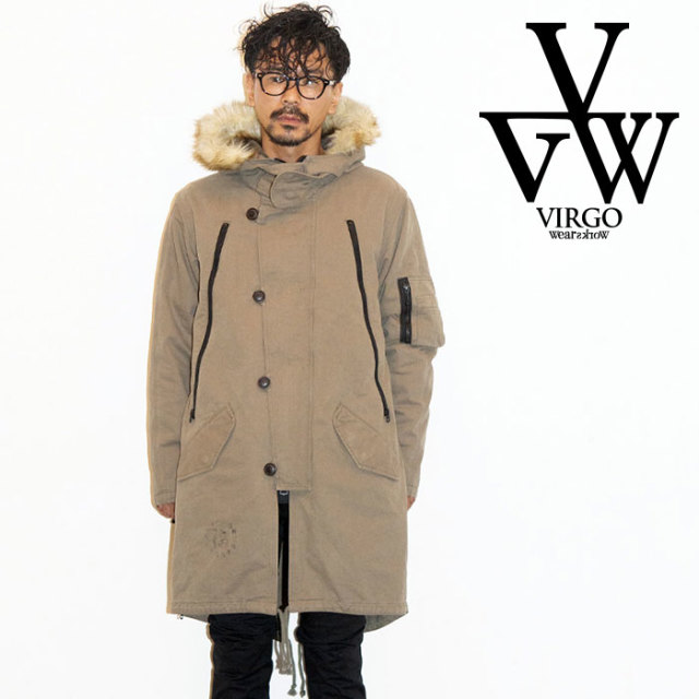 VIRGO ヴァルゴ バルゴ SPECIAL V2B JKT 【2019 LATE FALL&WINTER先行予約】 【VG-JKT-214】【キャンセル不可】【ミリタリーコー