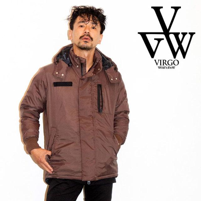 VIRGO ヴァルゴ バルゴ MILITARY MID TRACK DOWN JKT  【2019 LATE FALL&WINTER先行予約】 【VG-JKT-217】【キャンセル不可】【ナ