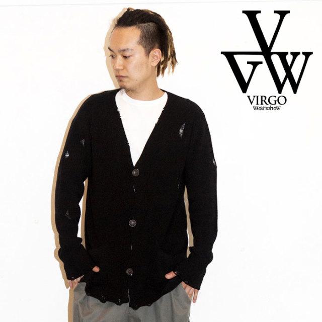 VIRGO ヴァルゴ バルゴ TRL21 CARDIGAN 【2019 LATE FALL&WINTER先行予約】 【VG-KNIT-79】【キャンセル不可】【カーディガン】