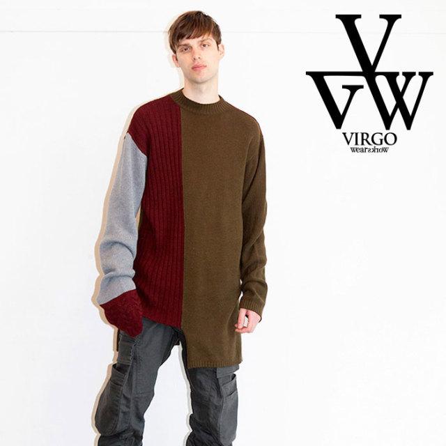 VIRGO ヴァルゴ バルゴ NOMAD LONG KNIT 【2019 LATE FALL&WINTER先行予約】 【VG-KNIT-80】【キャンセル不可】【ニット】