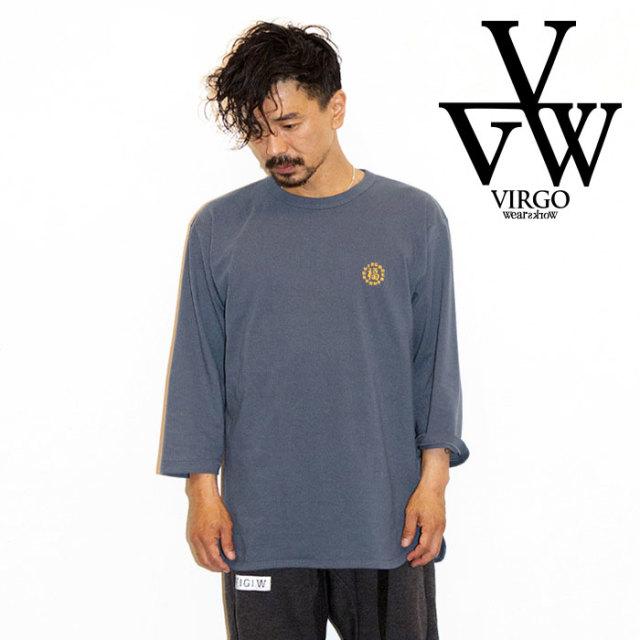 VIRGO ヴァルゴ バルゴ CIRCLE HAPPY EMB 3/4 【2019 LATE FALL&WINTER先行予約】 【VG-LSPT-61】【キャンセル不可】【7分丈カッ