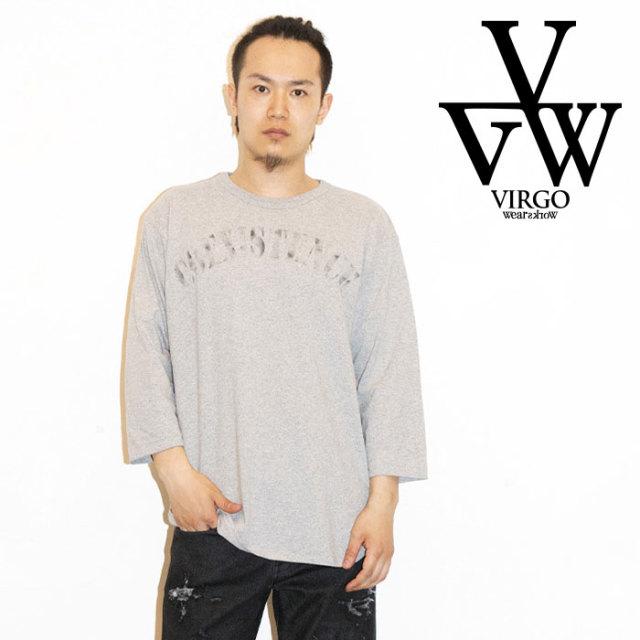 VIRGO ヴァルゴ バルゴ CONEX 3/4 TEE 【2019 LATE FALL&WINTER先行予約】 【VG-LSPT-62】【キャンセル不可】【7分丈カットソー】