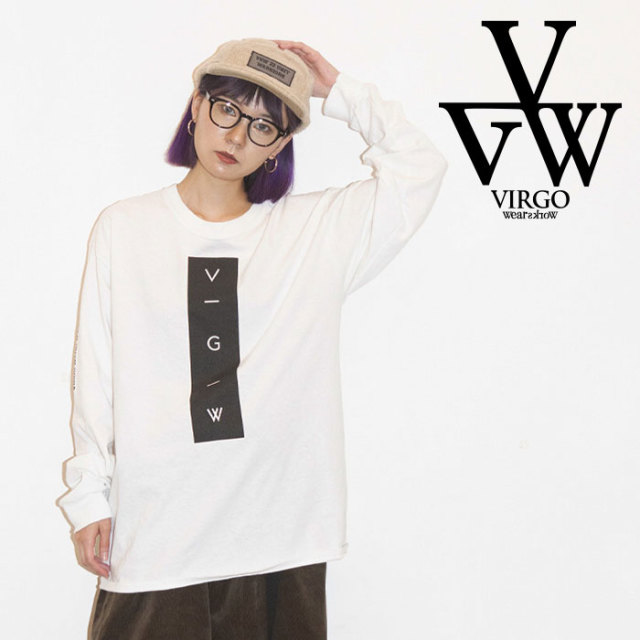 【SALE30%OFF】 VIRGO ヴァルゴ バルゴ VERTICAL VGW LST 【ロングスリーブTシャツ】【セール】【2019 LATE FALL&WINTER新作】【V