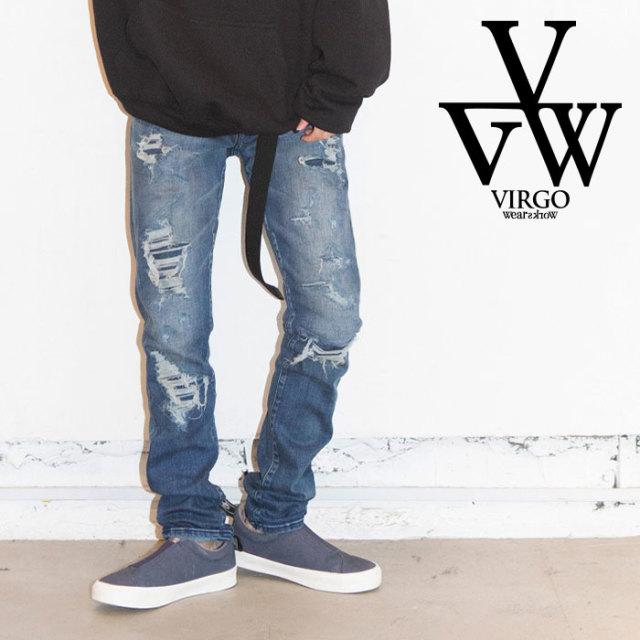 VIRGO ヴァルゴ バルゴ EXPANSION STRETCH DENIM 【2019 LATE FALL&WINTER先行予約】 【VG-PT-310】【キャンセル不可】【デニム】