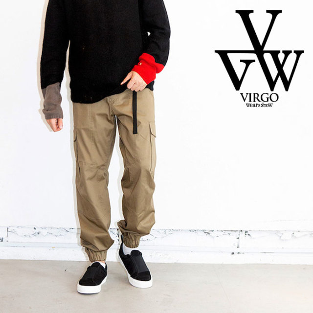 VIRGO ヴァルゴ バルゴ CARGO PKT CLIMBING PT 【2019 LATE FALL&WINTER先行予約】 【VG-PT-313】【キャンセル不可】【カーゴパン