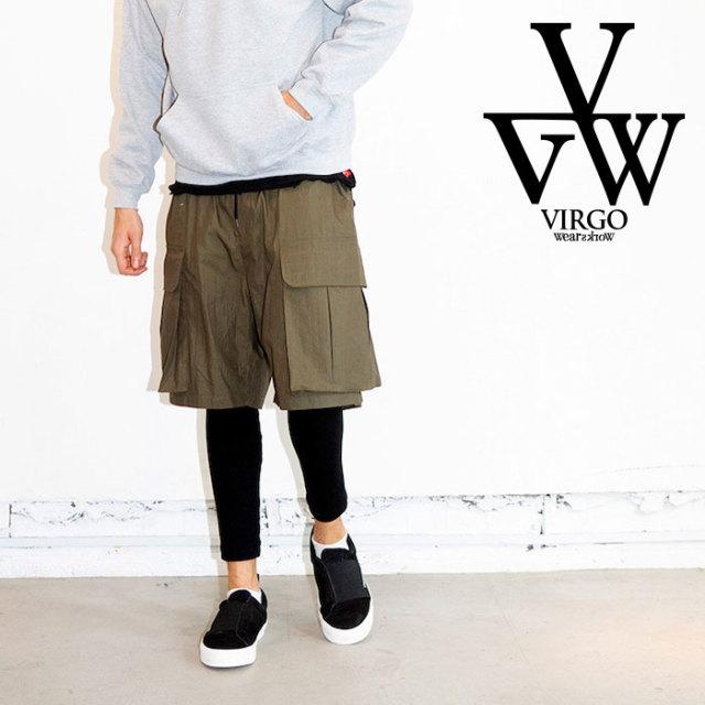 【SALE30%OFF】 VIRGO ヴァルゴ パンツ BIG CARGO SHADOW PT 【パンツ カーゴ レイヤード】【2019 LATE FALL&WINTER新作】【セー