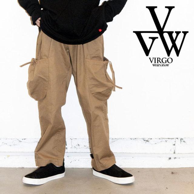 VIRGO ヴァルゴ バルゴ FAT PETAURISTA PT 【2019 LATE FALL&WINTER先行予約】 【VG-PT-318】【キャンセル不可】【カーゴパンツ】