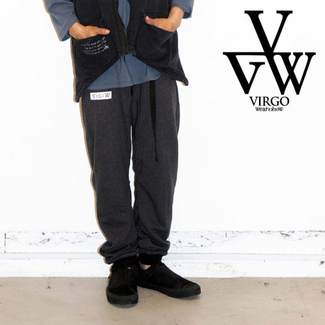 VIRGO ヴァルゴ バルゴ INVOIVING SWT PANTS 【2019 LATE FALL&WINTER先行予約】 【VG-PT-319】【キャンセル不可】【スウェットパ